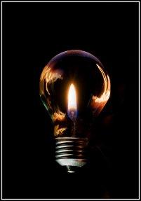 żarówka, elektryczność